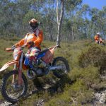 KTM Motorcycle downhill