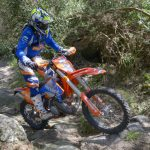 Riding dirtbike in portuguese ancient roads